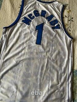 NBA Orlando Magic Tracy McGrady #1 tmac jersey Reebok sz 44 Mens