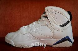 NDS Nike Air Jordan 7 VII DMP Size 8 Orlando Magic 371496 991 OG ALL Blue White