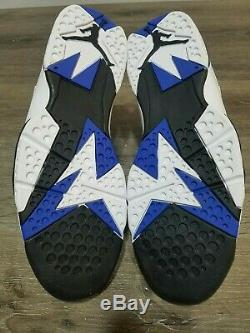 NEW 2009 Nike Air Jordan 7 Retro Orlando Magic DMP Size 13 304775-161