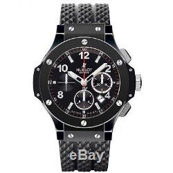 NEW HUBLOT BIG BANG Black Magic Ceramic Automatic Mens Watch Ref. 301. CX. 130. RX