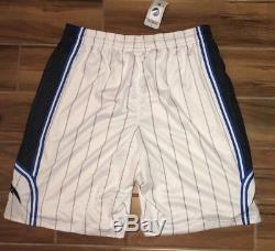 NEW Mens 3XL 4XL ADIDAS Orlando Magic Authentic On Court White Basketball Shorts