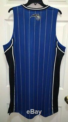 NEW Mens ADIDAS Orlando Magic Blue Swingman Twill Basketball Jersey XLT 2XL