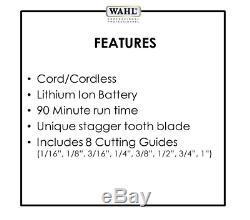 NEW Wahl Professional 5 Star Series Cordless Magic Clip #8148