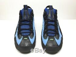 NIKE Air Penny 1 Basketball Shoes 11.5 Hoop Pack Black Blue Magic Max 313247-401