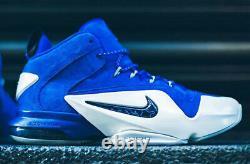 NIKE PENNY 6 VI PRM Orlando Magic Blue Size 12. 749629-401 jordan foamposite