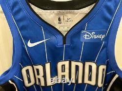 NIKE SWINGMAN AARON GORDON #00 Orlando Magic Blue Jersey Disney Patch M