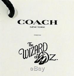 NWT Coach WIZARD OF OZ All 5 Charms Lion, Scarecrow, Dorothy, Witch, Tin Man