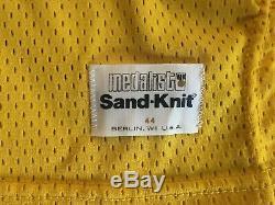 NWT Medalist Sand Knit MAGIC JOHNSON #32 Los Angeles LA Lakers Jersey 44 Large L