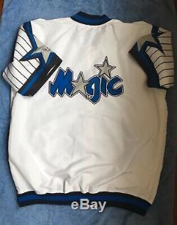 New 1995-96 Orlando Magic Game Team Issued Warm Up Jacket Shaq Penny Hardaway