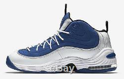 New 2016 Nike AIR PENNY II 2 Orlando Magic Atlantic Blue Retro Sneakers Men 11.5