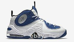New 2016 Nike AIR PENNY II 2 Orlando Magic Atlantic Blue Retro Sneakers Mens 10