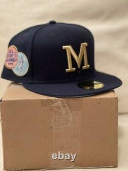 New Era Magic Tree House Merlin Missions Milwaukee Brewers 7 1/2 MyFitteds DS