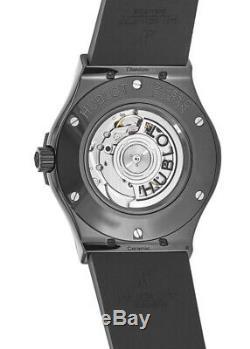 New Hublot Classic Fusion 45mm Black Magic Rubber Men's Watch 511. CM. 1771. RX