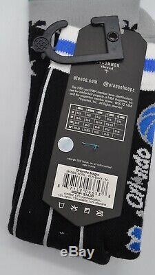 New Reebok Pump Shaq Attaq 1 Black/Azure Orlando Magic 10.5 Stance Magic Socks