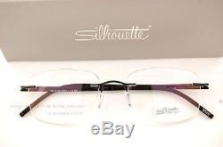 New Silhouette Eyeglass Frames Titan Harmony 5326 6060 Black Magic 5263 Men
