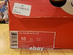 Nike Air Foamposite One Penny Hardaway Orlando Magic Sport Royal Men's Size 10