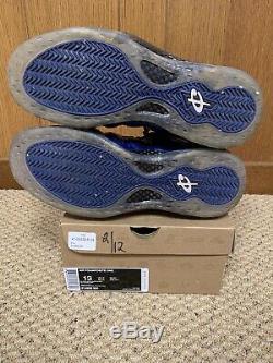 Nike Air Foamposite One Royal Blue Black 314996-500 Penny Magic Size 13 2011