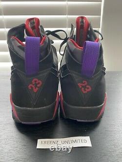Nike Air Jordan 7 Defining Moments Pack, DMP Pack, Magic, Raptor, Size 12