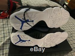 Nike Air Jordan 9 Retro SZ 12 Black White Racer Blue Magic IN HAND (FAST SHIP)