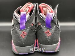 Nike Air Jordan Retro 2009 DMP 7 Multi Color 371496 991 sz 11.5 Raptors / Magic