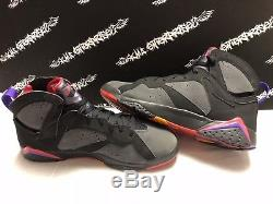 Nike Air Jordan Retro 7 VII DMP Pack Magic Raptors Shoes Mens Size 13 EXCELLENT