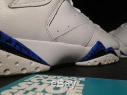 Nike Air Jordan VII 7 Retro Dmp Orlando Magic White Blue Black 304775-161 10.5