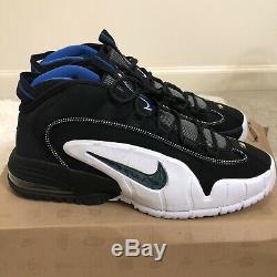 Nike Air Max Penny 1 One Orlando Magic Black Royal Blue 311089-001 Size 13 2011