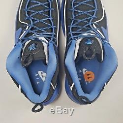 Nike Air Max Penny 2 ll Mens Sz 11 Black Blue Silver 333886-005 Orlando Magic