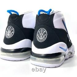 Nike Air Max Uptempo'95 White Blue Black Magic Penny CK0892-103 Men's 12