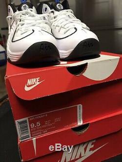 Nike Air Penny 2 White Orlando Magic Men's Size 9.5 New