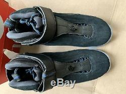 Nike Air Penny 4 IV Orlando Magic Black Blue Hardaway SZ 10 864018-001