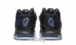 Nike Air Penny 4 Orlando Magic Black Blue Size 10. 864018-001 Jordan Foamposite