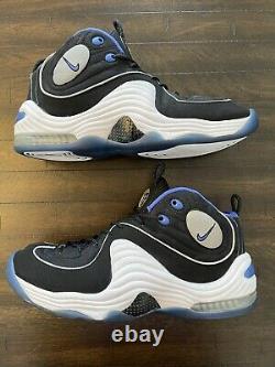 Nike Air Penny II 2 Black Royal Size 10.5 Hardaway Orlando Magic Retro (2008)
