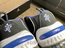 Nike Air Penny II 2 Black Royal Size 10.5 Hardaway VNDS Orlando Magic Retro