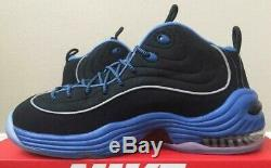 Nike Air Penny II 2 Black Varsity Royal Blue Orlando Magic 333886 005 Foam Sz 10