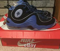 Nike Air Penny II 2 Black Varsity Royal Blue Orlando Magic 333886 005 Foam Sz 13