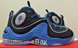 Nike Air Penny II 2 Black Varsity Royal Blue Orlando Magic 333886 005 Foam Sz 8