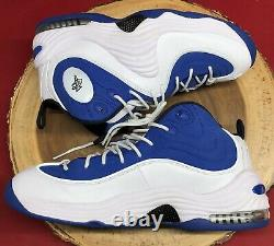 Nike Air Penny II 2 College Blue White Black Orlando Magic Atlantic Sz 10.5