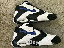 Nike Air Up'14 Orlando Magic Penny Black/Game Royal-White 630929-004 Mens Sz 12