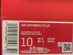 Nike Air VaporMax Plus Orlando Magic Black Royal Blue DH4300-001 Mens Size 10