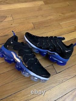 Nike Air VaporMax Plus Orlando Magic Black Royal Blue DH4300-001 Mens Size 12