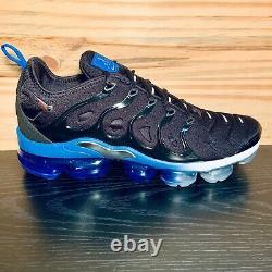 Nike Air VaporMax Plus Orlando Magic Mens Size 10.5 Black Blue NEW DH4300-001
