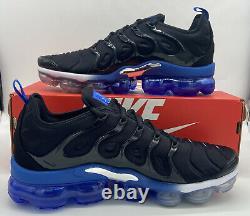 Nike Air VaporMax Plus Retro Orlando Magic Black Royal Blue DH4300-001 Mens Size