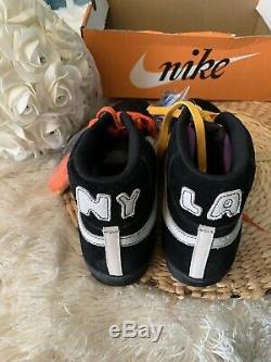 Nike Blazer Mid LA Lakers vs NYC Knicks Sz 13 NIB! Kobe, Ewing, Carmelo, Magic