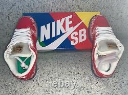 Nike Dunk SB Low Stingwater Magic Mushroom Size 7 (DH7650-600) Shipped w UPS
