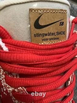 Nike Dunk SB Low Stingwater Magic Mushroom UK9 In Hand