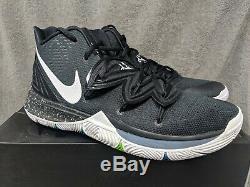 Nike Kyrie Irving 5 V Black Magic Multi-Color White (AO2918-901) Men Size 12