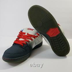 Nike SB Dunk Low Pro Dorothy Wizard of Oz White Blue 313170-020 Men's Size 12