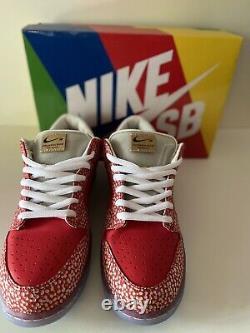 Nike SB Dunk Low Pro QS Magic Mushroom Size 12 Stingwater, New In Box Never Worn