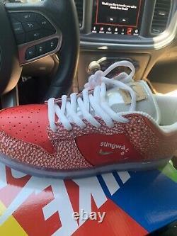 Nike SB Dunk Low Stingwater Magic Mushroom Size 12 In Hand